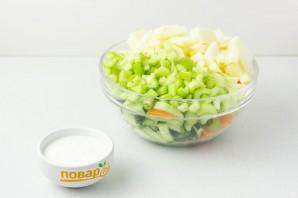 Салат из сельдерея для похудения - фото шаг 3