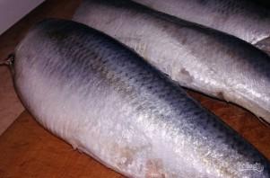 Домашняя рыбная консерва из сельди - фото шаг 1