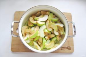 Варенье из яблок и слив - фото шаг 8