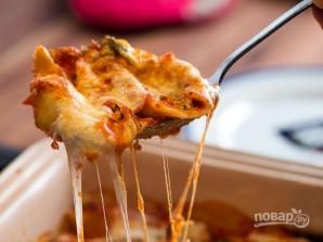 Макароны, фаршированные сыром и шпинатом - фото шаг 5