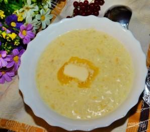 Молочная рисовая каша с тыквой - фото шаг 4