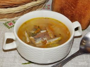 Суп из рыбных консервов в мультиварке - фото шаг 5