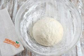 Обезьяний хлеб с чесноком и сыром - фото шаг 4