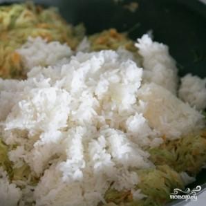 Капуста с рисом - фото шаг 7