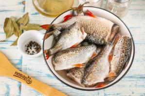 Рыба в банке в духовке - фото шаг 1