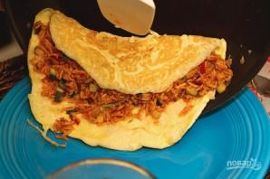 Японский омлет с рисом - фото шаг 5