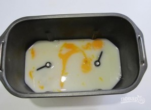 Тесто для блинов в хлебопечке - фото шаг 2