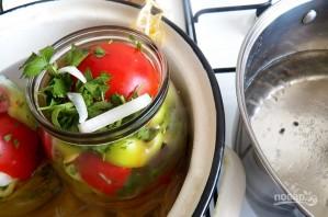 Салат из помидоров с перцем на зиму - фото шаг 6