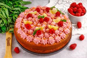 """Торт """"Малиновая нежность"""" - фото шаг 12"""