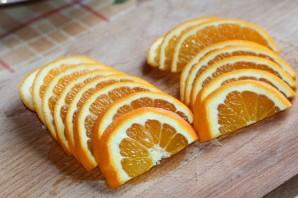 Cалат с печенью и апельсинами - фото шаг 3