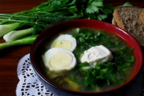 Суп из щавеля с мясом - фото шаг 6