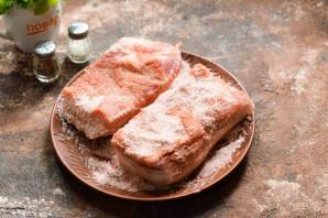 Соленое сало с красным перцем - фото шаг 5