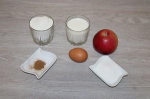 Оладьи с яблоками и корицей - фото шаг 1