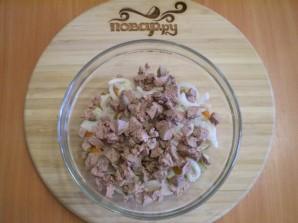 Салат с печенью куриной - фото шаг 6