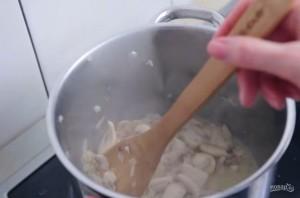 Сливочно-грибной суп за 15 минут - фото шаг 2