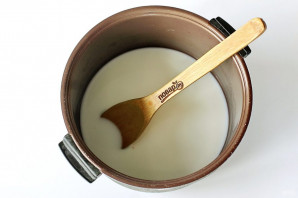 Пшеничная каша на молоке в мультиварке - фото шаг 4
