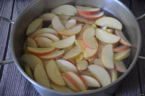 Компот из яблок и кизила - фото шаг 3