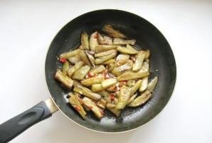Острая закуска из баклажанов - фото шаг 10