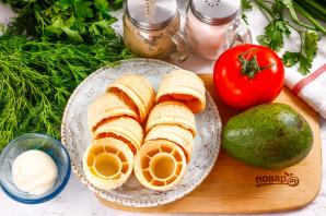 Тарталетки с авокадо - фото шаг 1