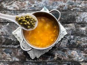 Сырный суп с зеленым горошком - фото шаг 5