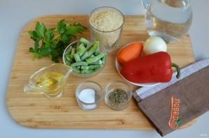 Ароматное овощное ризотто - фото шаг 1