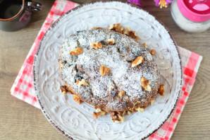 Постный пирог с орехами - фото шаг 12