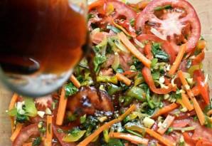Острые пикантные цукини с овощами - фото шаг 8