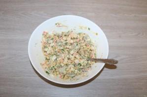 Салат из крабовых палочек с шампиньонами - фото шаг 13