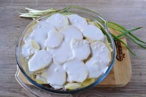 Картофельный гратен с мясом - фото шаг 8