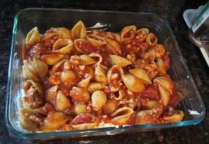 Запеченные макароны в духовке - фото шаг 7