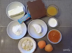"""Торт с джемом и сыром """"Филадельфия"""" - фото шаг 1"""