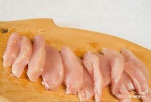 """Курица в соусе """"Терияки"""" с кунжутом - фото шаг 2"""