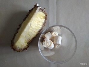 Банановое мороженое с ананасом - фото шаг 2