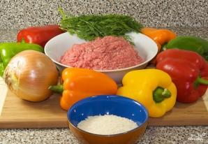 Фаршированные перцы классический рецепт - фото шаг 1