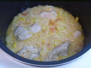 Курица с овощами с сметане - фото шаг 6