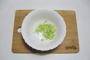 Постный салат с кальмарами - фото шаг 4