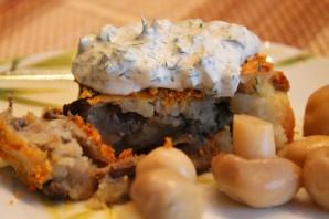 Картофельные котлеты в духовке - фото шаг 10