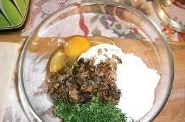 Суфле из курицы с грибами - фото шаг 2