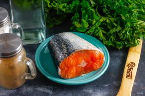 Засол красной рыбы с водкой
