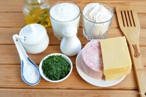 Сырные лепешки с разными начинками - фото шаг 1