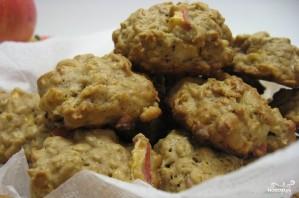 Овсяное печенье с яблоками - фото шаг 4