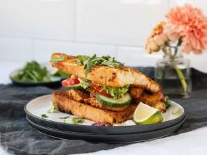 """Сэндвич с курицей """"Тикка масала"""" - фото шаг 5"""
