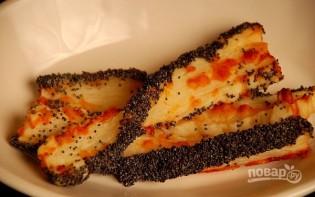 Слойки с сыром и маком - фото шаг 14