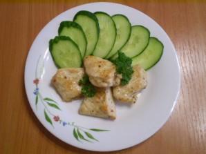 Куриное филе кусочками на сковороде - фото шаг 6