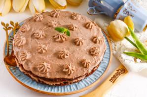 Шоколадный ПП торт