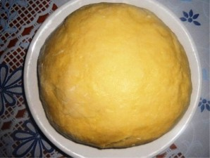 Творожное тесто для вареников - фото шаг 3