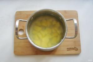 Суп из скумбрии с пшеном - фото шаг 7
