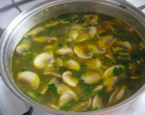 Суп из свежих грибов   - фото шаг 10