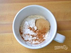 Пирог в чашке в микроволновке - фото шаг 1