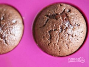 Кекс с жидким шоколадом внутри - фото шаг 9